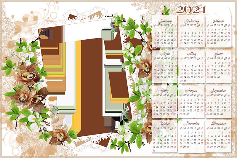Imikimi Calendar Frames