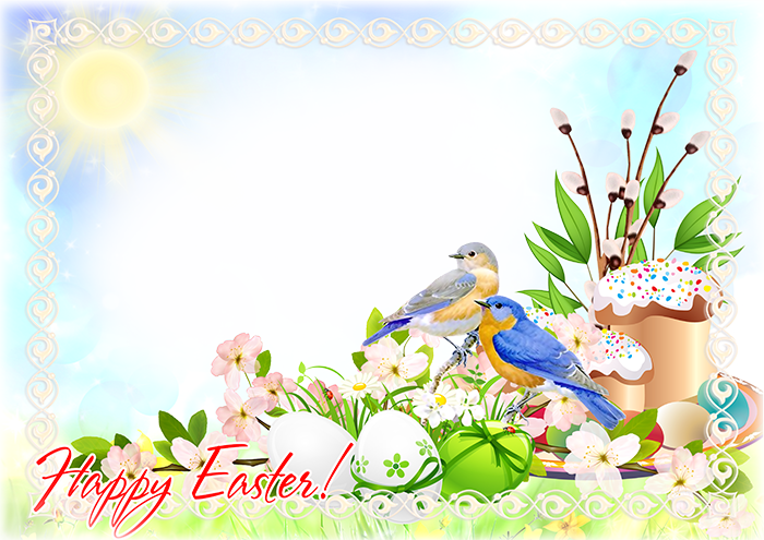 Imikimi Happy Easter Frames