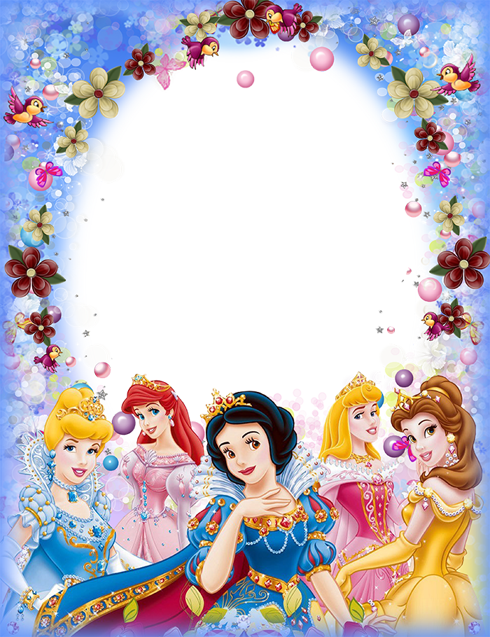Imikimi disney princesses frame