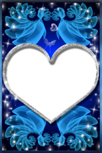 Imikimi Blue Love Frames