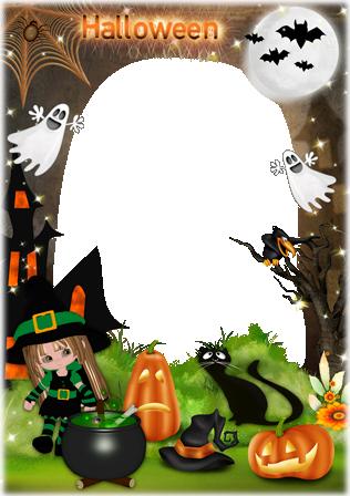Imikimi Halloween Frame